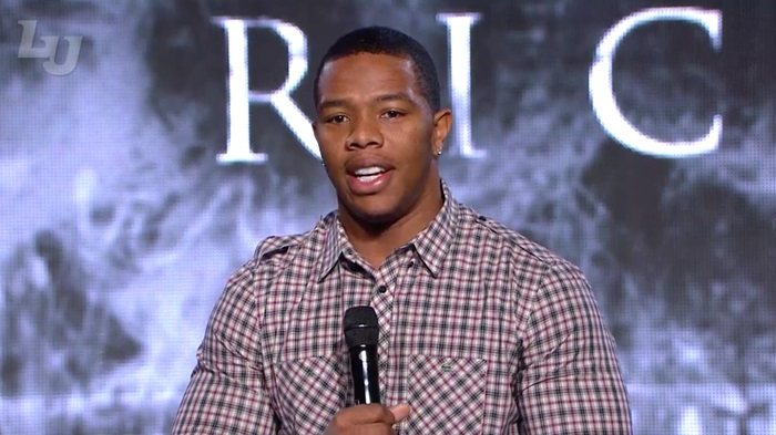 Ray Rice Will Be Speaking To Alabama Football Players About How To Treat The Opposite Sex
