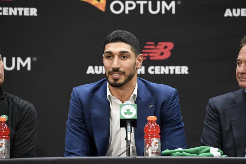 Enes Kanter Is Becoming An American Citizen