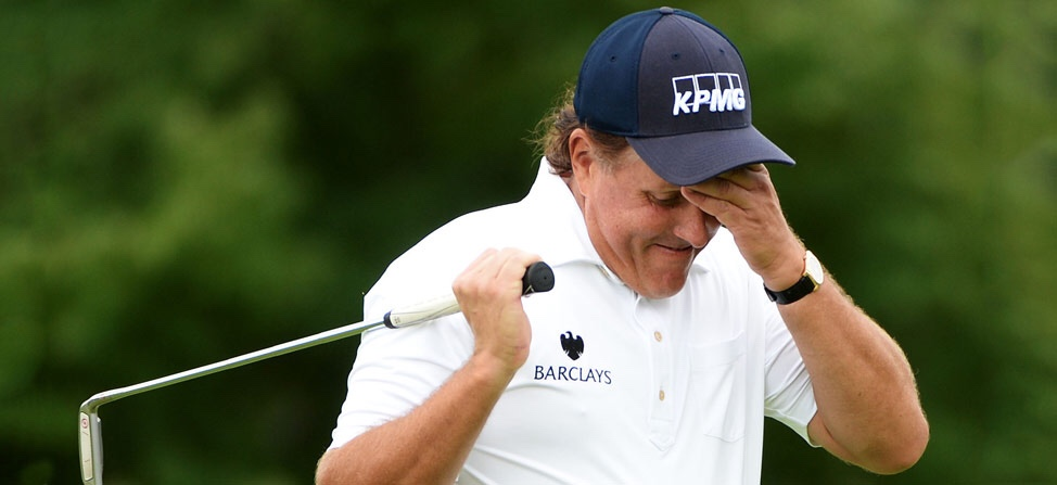 Phil Mickelson's Hotel Was Struck By Lightning And Caught Fire Yesterday