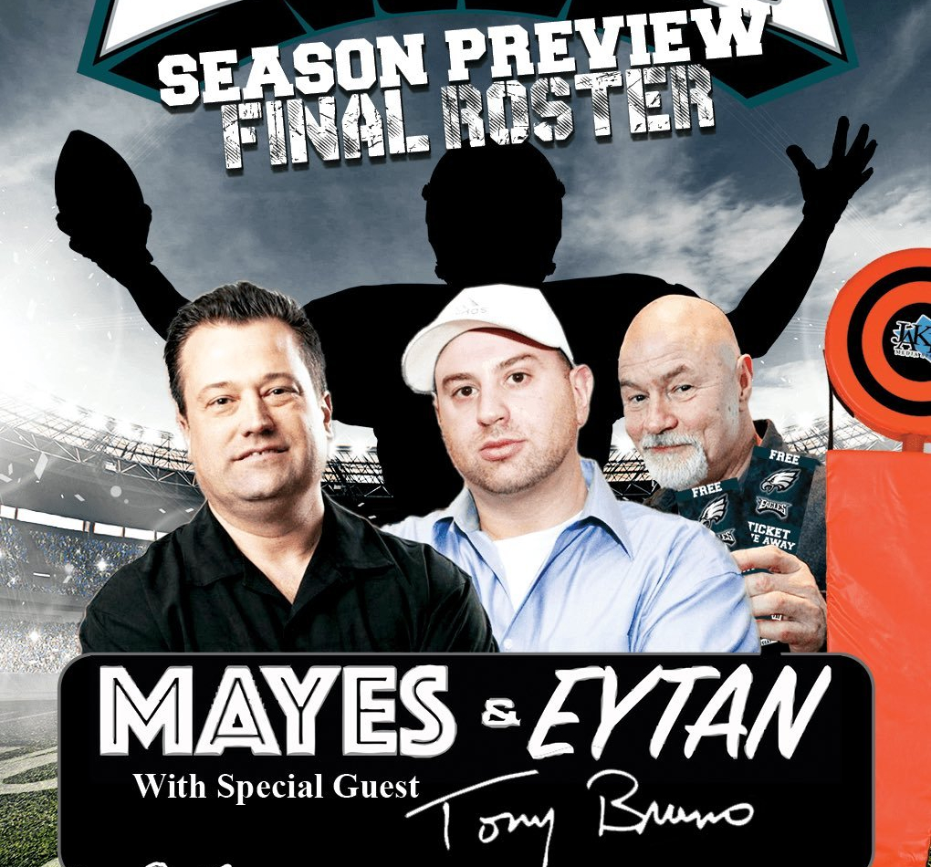 Harry Mayes, Eytan Shander And Tony Bruno Are Giving Away The Greatest Eagles Ticket Package Ever