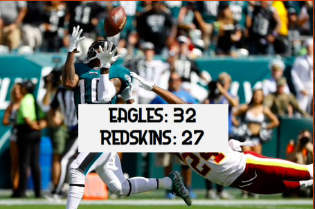 7 Key Talking Points From the Eagles-Redskins Game