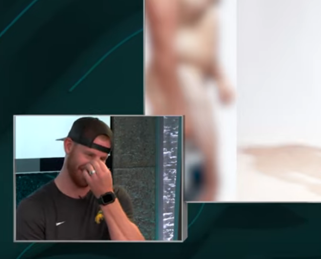 Carson Wentz Reaction To First Seeing The ESPN Body Issue