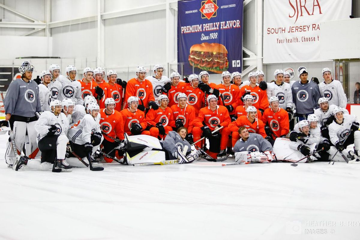 Interesting Players at Flyers Training Camp