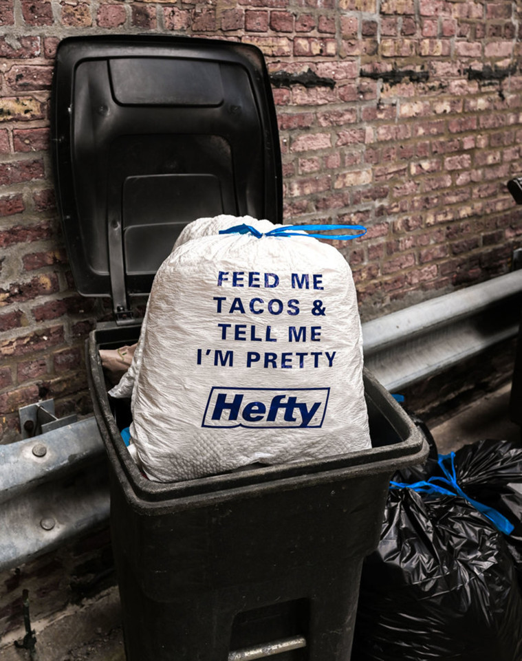"Hefty Making Bags For Millennials That Say ""Tie Me Up"" And ""Buy Me Tacos And Tell Me I'm Pretty"""