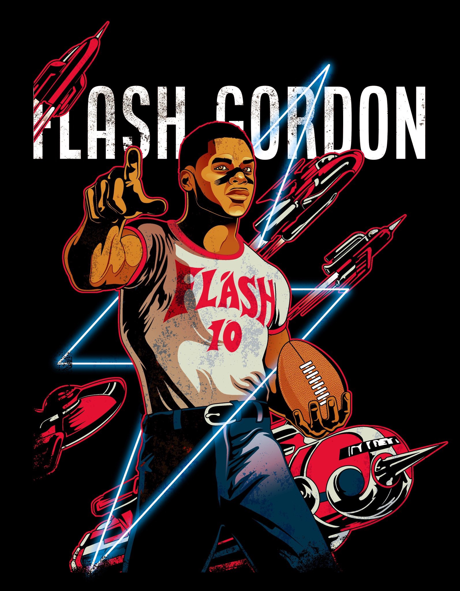 Flash Gordon Tee Now Available!
