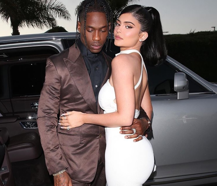 Kylie Jenner Posing Naked With Travis Scott For Playboy