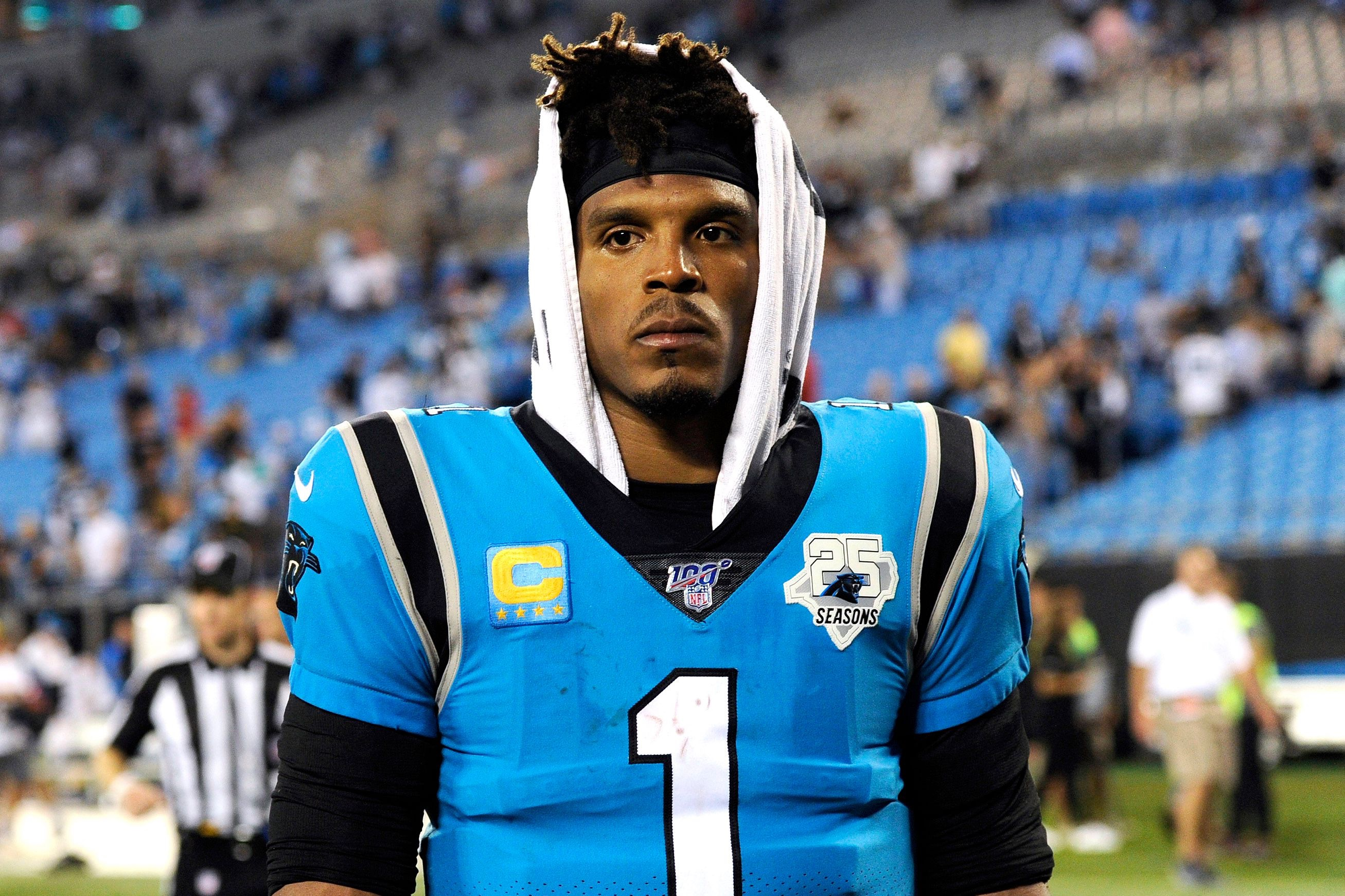 Cam Newton Stepping Away From The Panthers