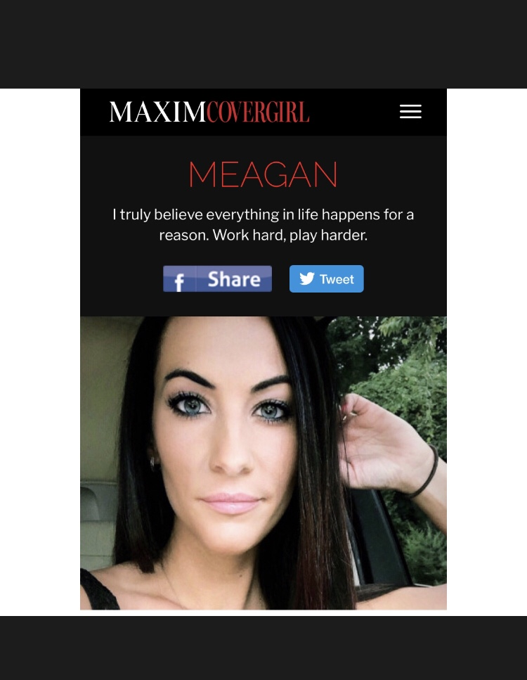 Our Very Own MURT is Competing to be on the Cover of MAXIM! Proceeds go to an AWESOME charity! Let's get her some VOTES!