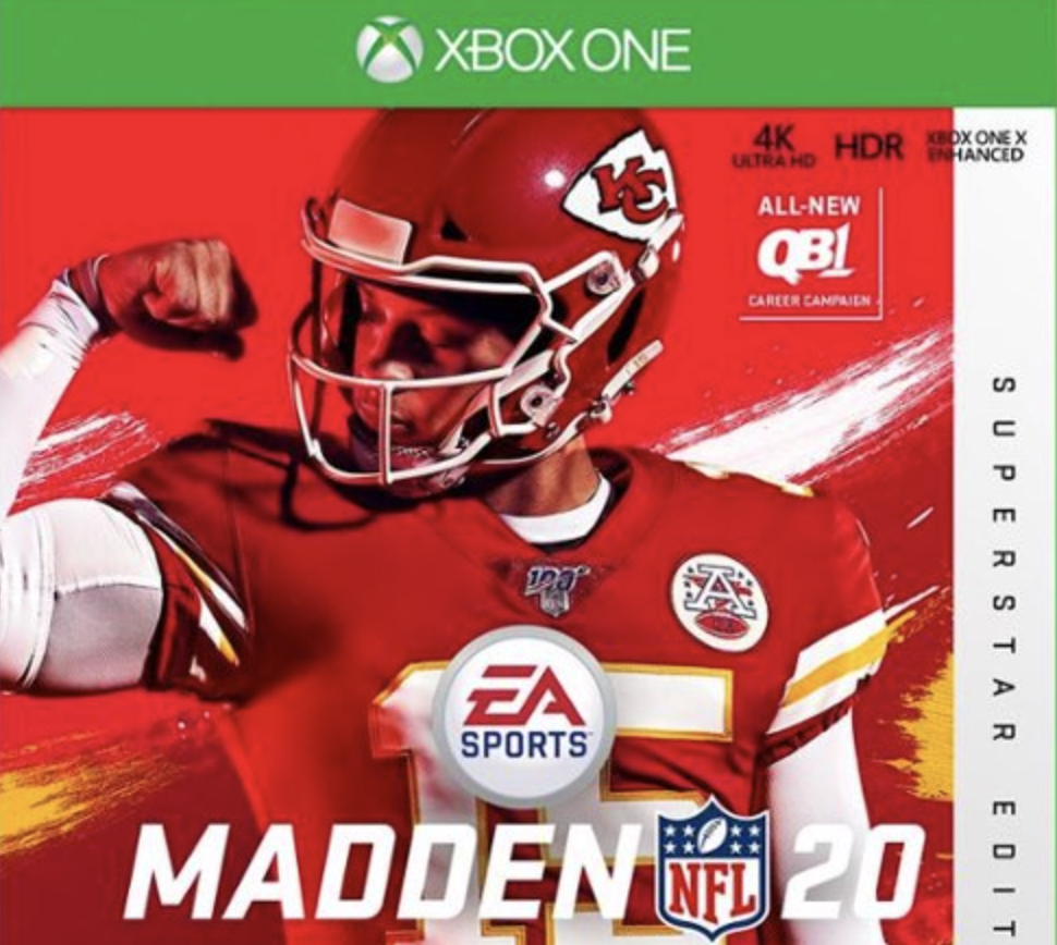 The Madden Curse Stays Undefeated. Pat Mahomes' Knee Popped Like Bubble Wrap Tonight.