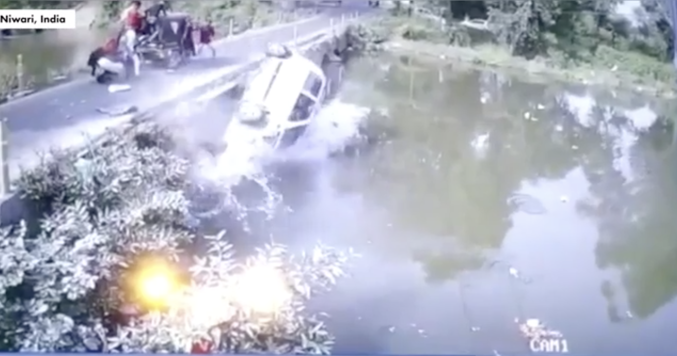MUST WATCH: Dad Tries To Save Kid, Instead Launches Him Into Bridge