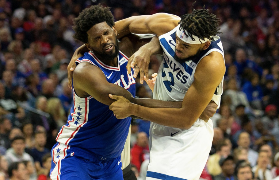 Joel Embiid Suspended 2 Games For Destroying Karl Anthony Towns On & Off The Court