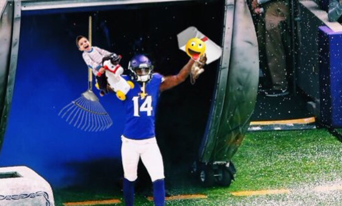 Stefon Diggs Tweet Has Everyone Thinking He's On His Way To New England