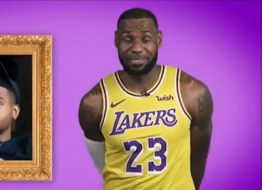 I Can't Stop Laughing At This Clip Of LeBron James With A Lisp