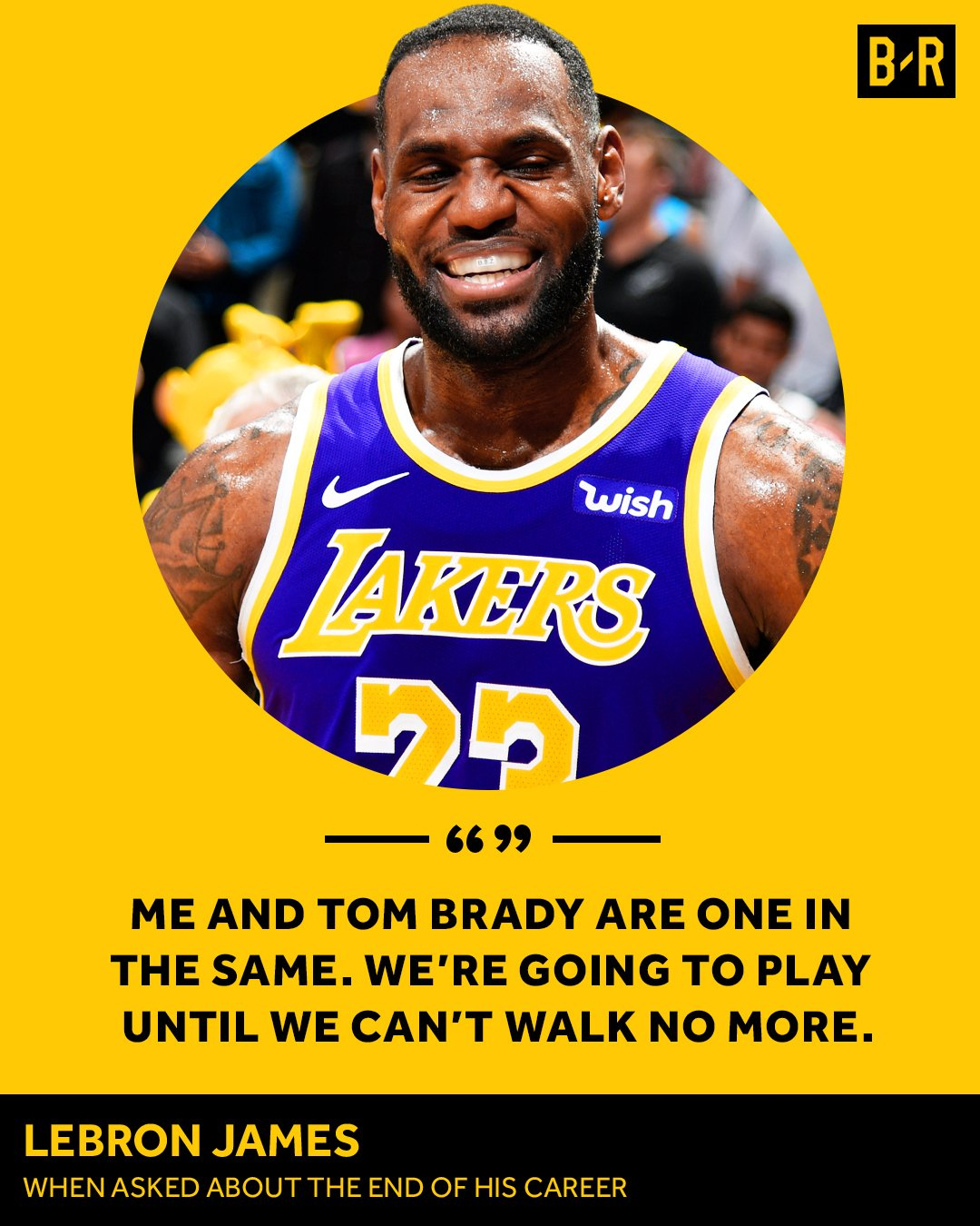 Tom Brady And LeBron James Are Absolutely Not One In The Same