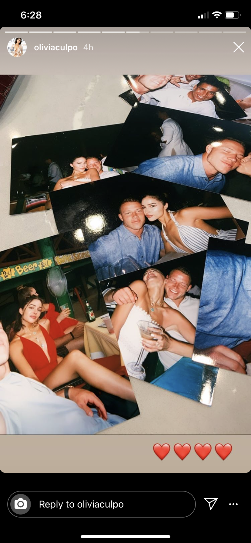 An Update On Olivia Culpo And Christian McCaffrey