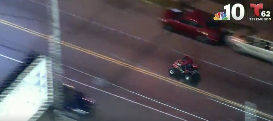 We've Got An Old Fashioned ATV Police Chase In Philly!