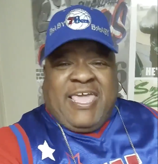 Finally Monty G Gets To Rap About A Sixers Win