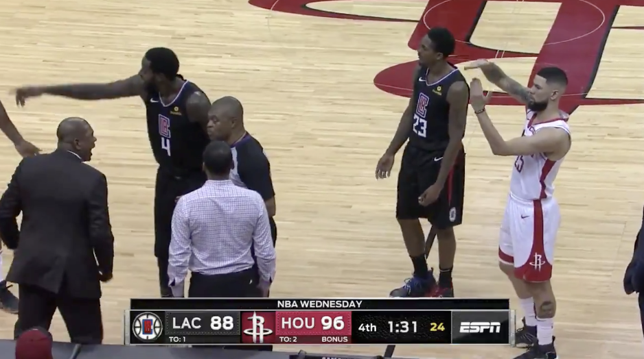 Austin Rivers Just Ejected His Own Dad From The Clippers/Rockets Game