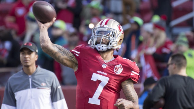 List Of Teams Attending Colin Kaepernick's Workout Has Been Released