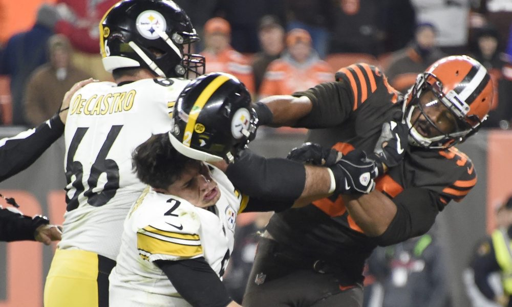 Mason Rudolph Might Sue Myles Garrett