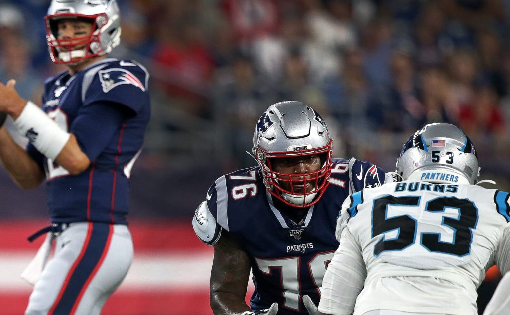 Isaiah Wynn Better Be As Good As Tony Romo Thinks He Is Or The Patriots Are Fucked