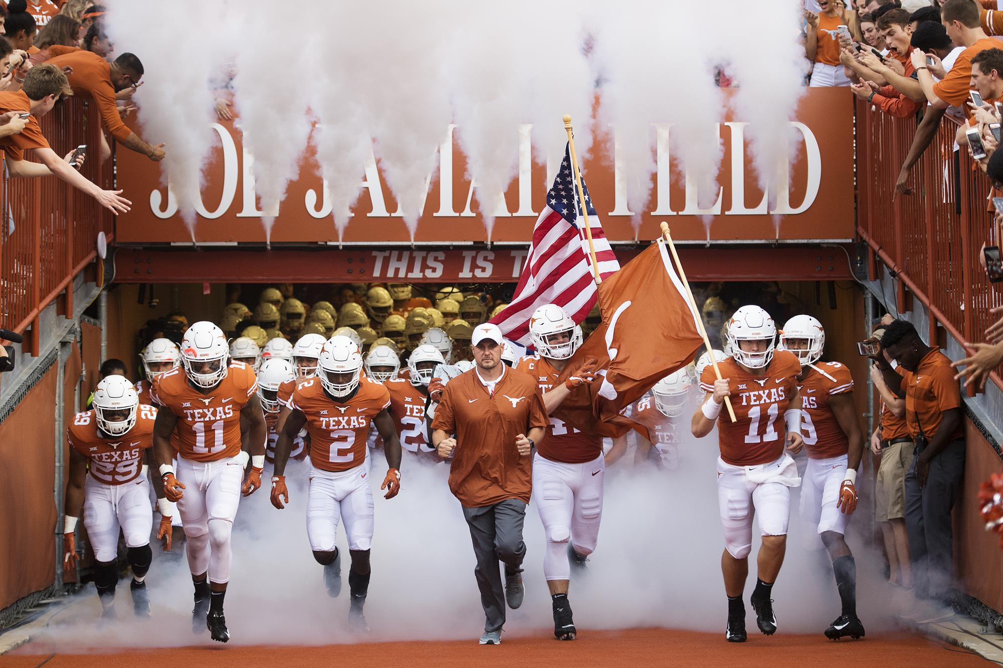 A Farewell to Texas Football