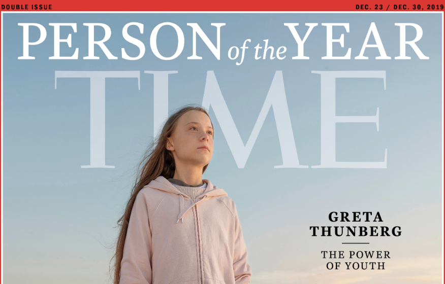 Greta Thumbum Becomes TIME's Person Of The Year…PUKE
