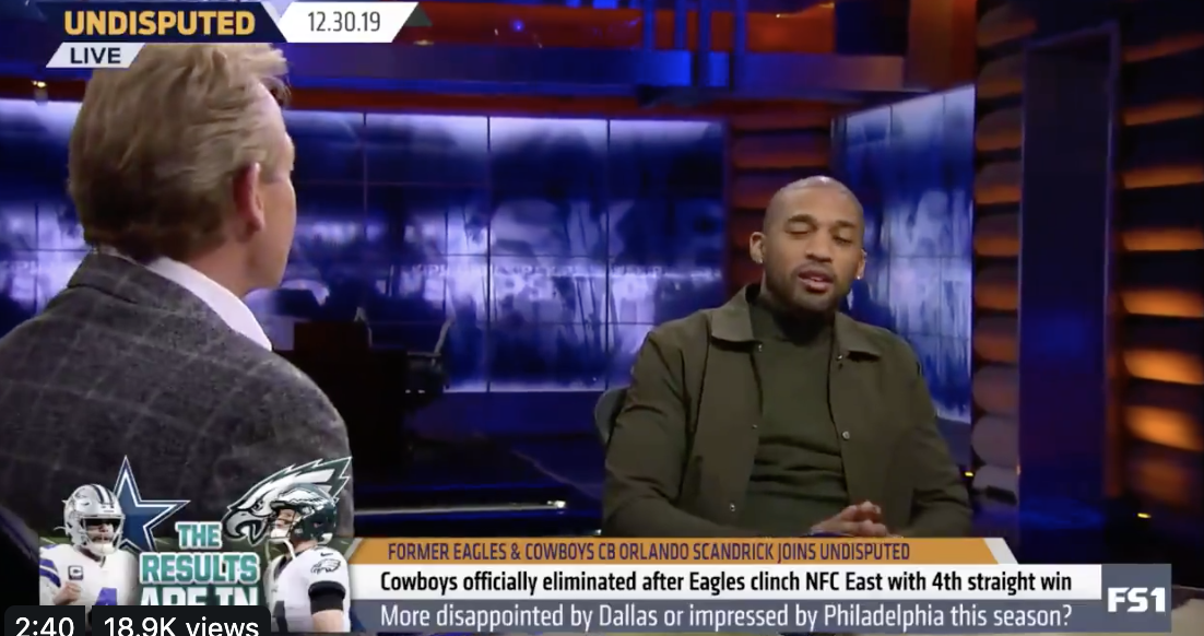Orlando Scandrick Backtracks Everything He Said About the Eagles