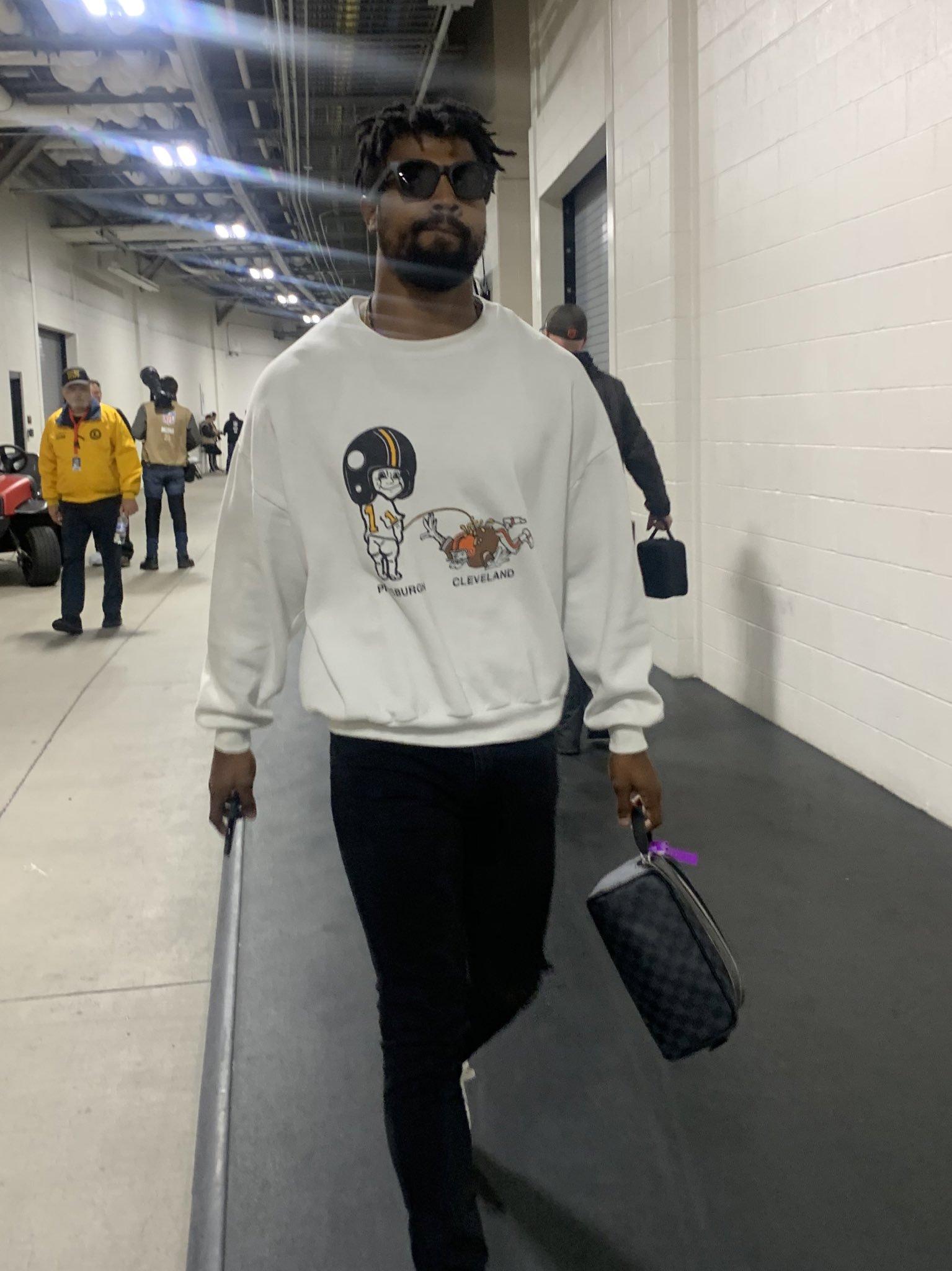 We've Got A Shirt Off Between The Steelers & Browns