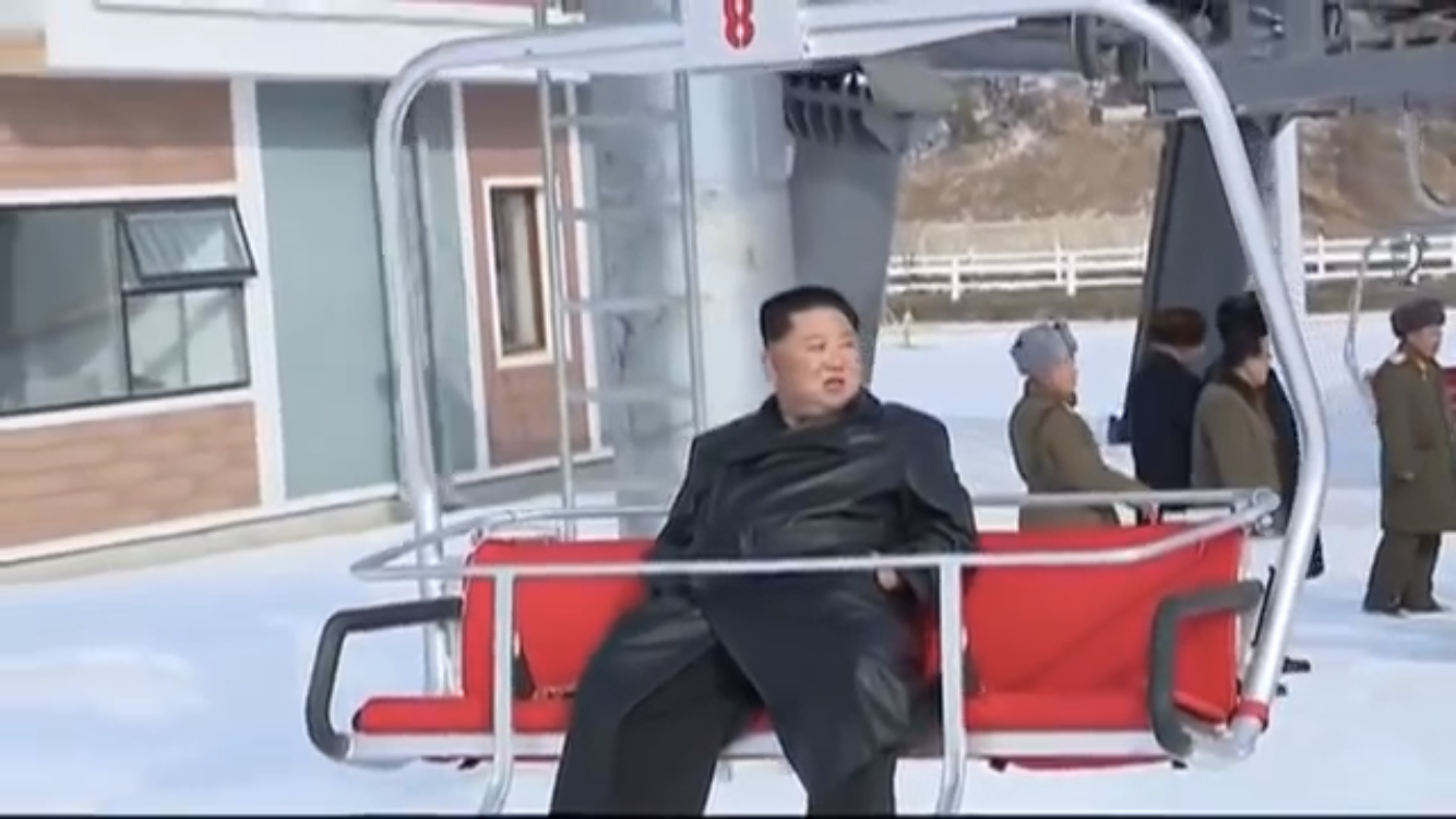 New North Korean Ski Resort Looks Like a Killer Time! [Video]
