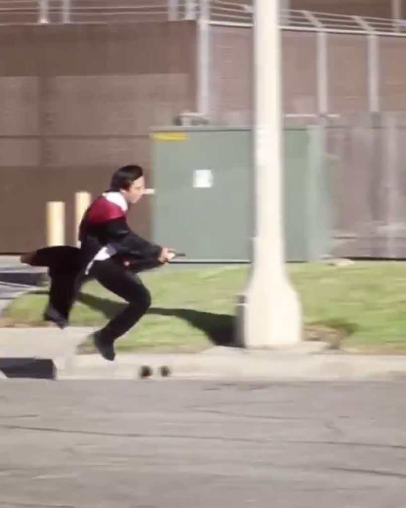 This Video Of A Guy Flying A Broom Broke My Brain