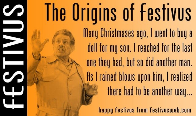 Today Is Festivus, So Here Are My Branded Grievances