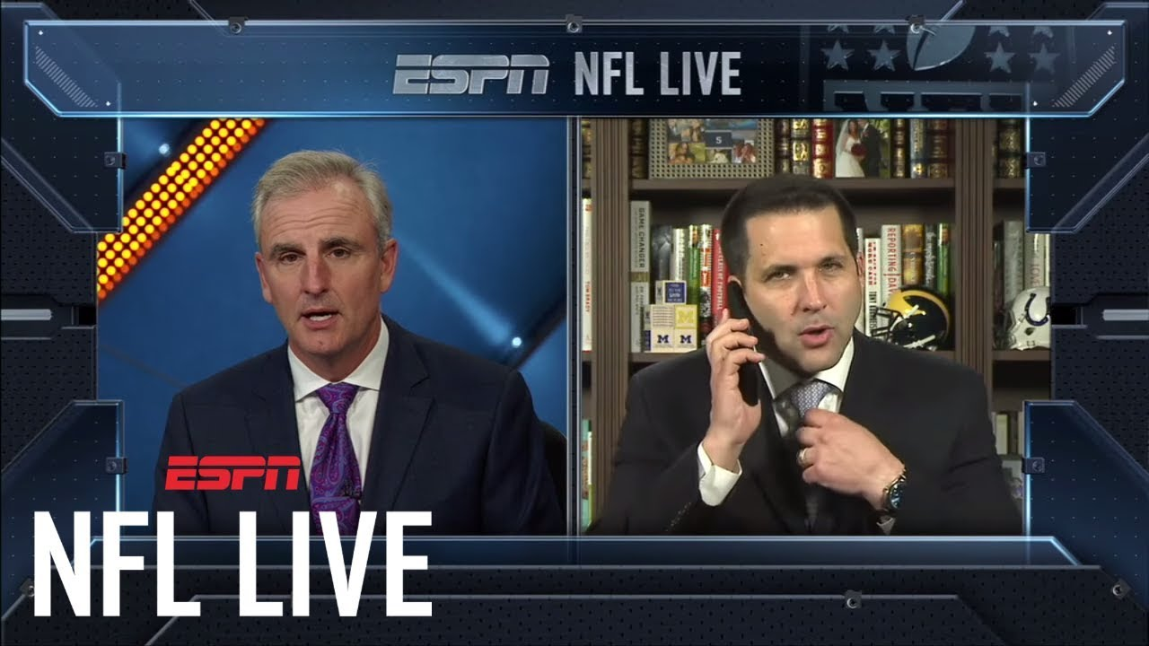 Adam Schefter Was Still Breaking News While Passing A Kidney Stone