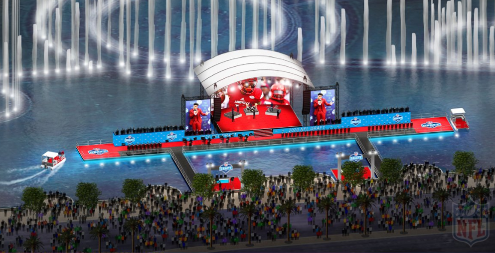 The 2020 NFL Draft In Las Vegas Will Be In The Bellagio Fountain