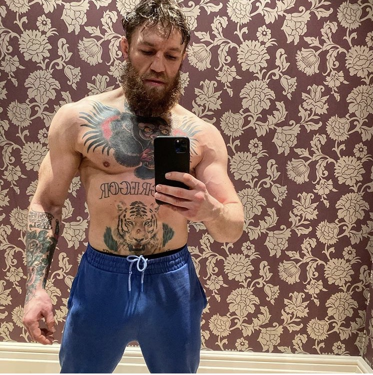 Conor McGregor Giving Us a Little Extra Gym Motivation For the New Year