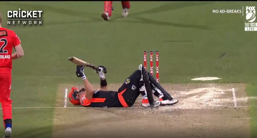 This Mic'd Up Cricket Player Getting Drilled in the Balls Isn't Funny, Butttttt It's Pretty Funny