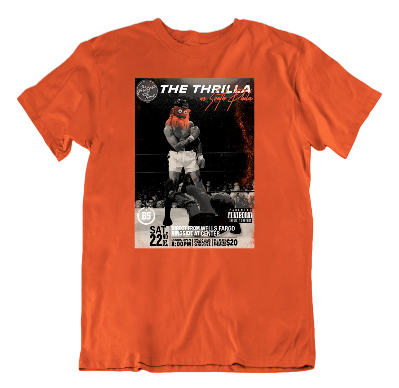 Gritty vs. The 13 Year Old Kid, The Thrilla In South Phila, Would Be The Biggest Pay Per View Ever + New Shirt