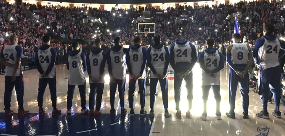 Here Is The Entire Sixers Tribute Tonight From Fans, Joel Embiid, + More