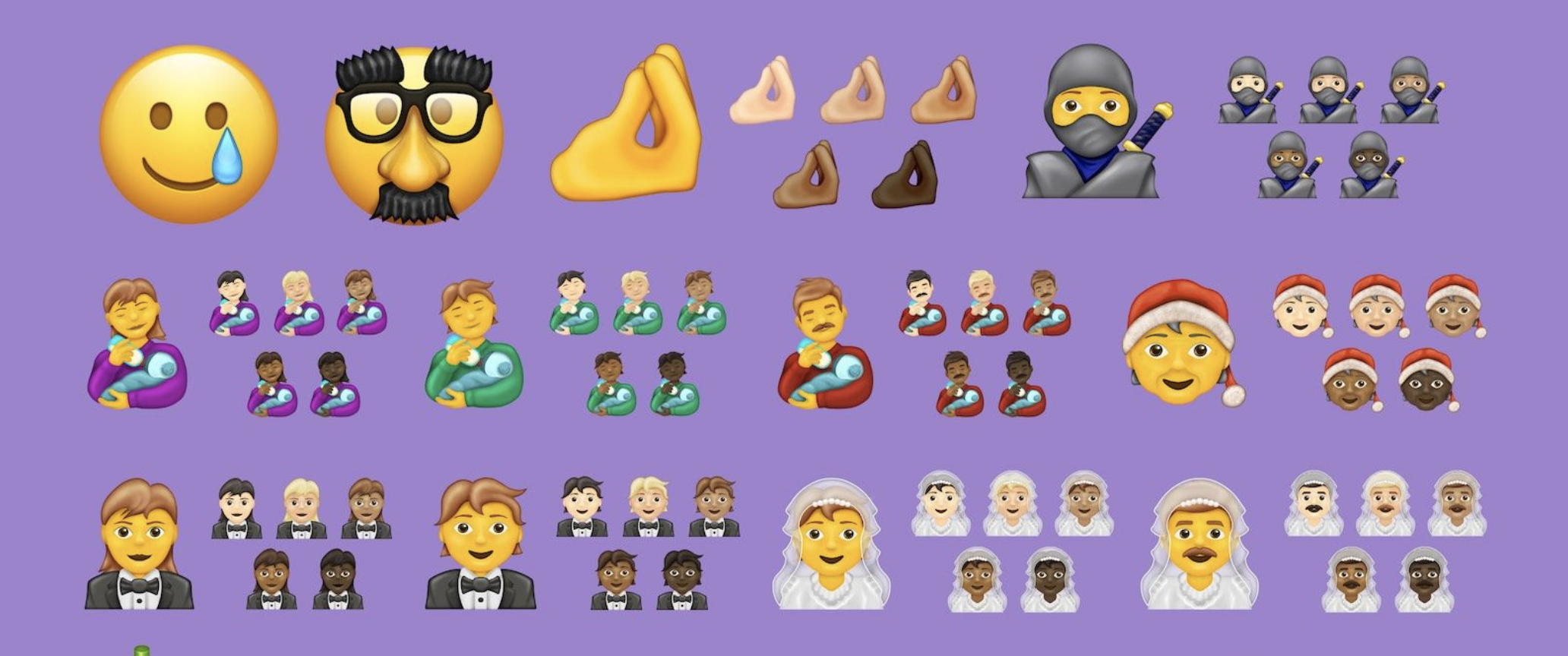 Breaking Down the 117 New Emojis Coming To iPhone In 2020