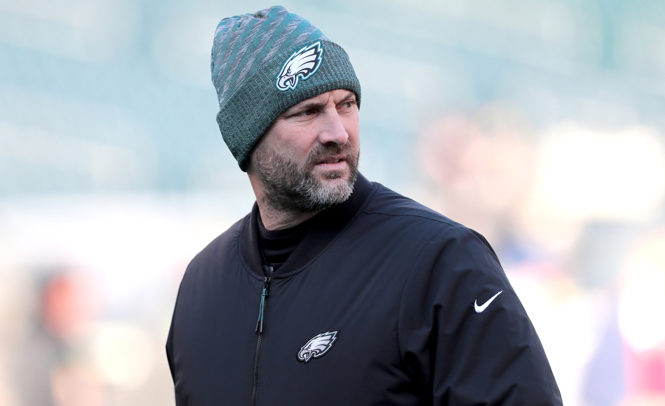 Mike Groh Is Out As Eagles Offensive Coordinator