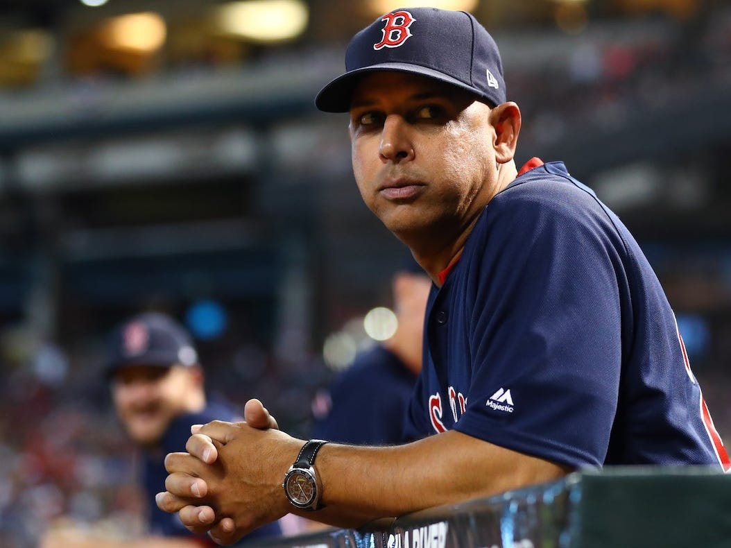 BREAKING NEWS:  Alex Cora OUT in Boston.