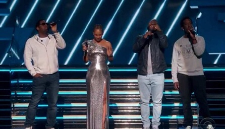 Boyz II Men And Alicia Keys Pay Tribute To Kobe Bryant And His Family At The Grammys