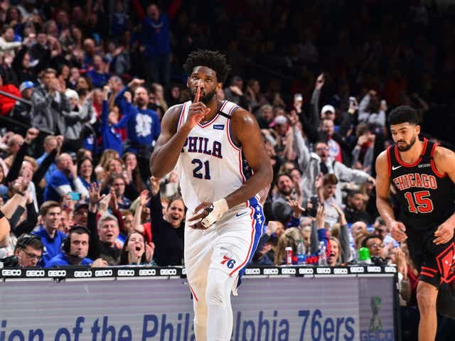 Bleacher Report Tweeted a Video Claiming Joel Embiid Got Booed in Intros and Everyone Lost Their God Damn Mind