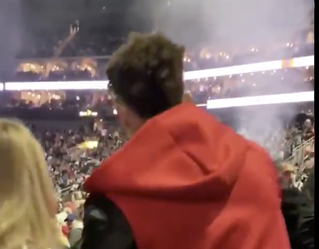 Patrick Mahomes Is On A Bender For the Ages! First The Super Bowl Parade Then Shows Up To The Post Malone Concert Hammered