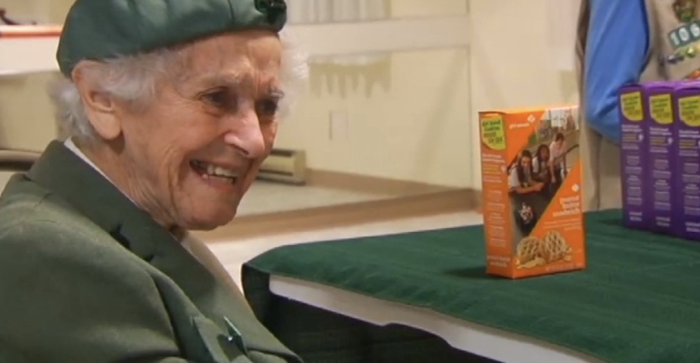 I Would Outsell This 98 Year Old Girl Scout So Fast It Would Make Her Go Into Cardiac Arrest