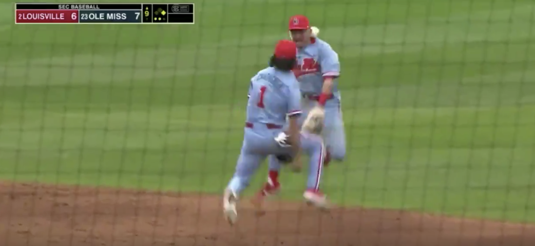 Don't Show This Ole Miss Baseball Celly To The Baseball Purists
