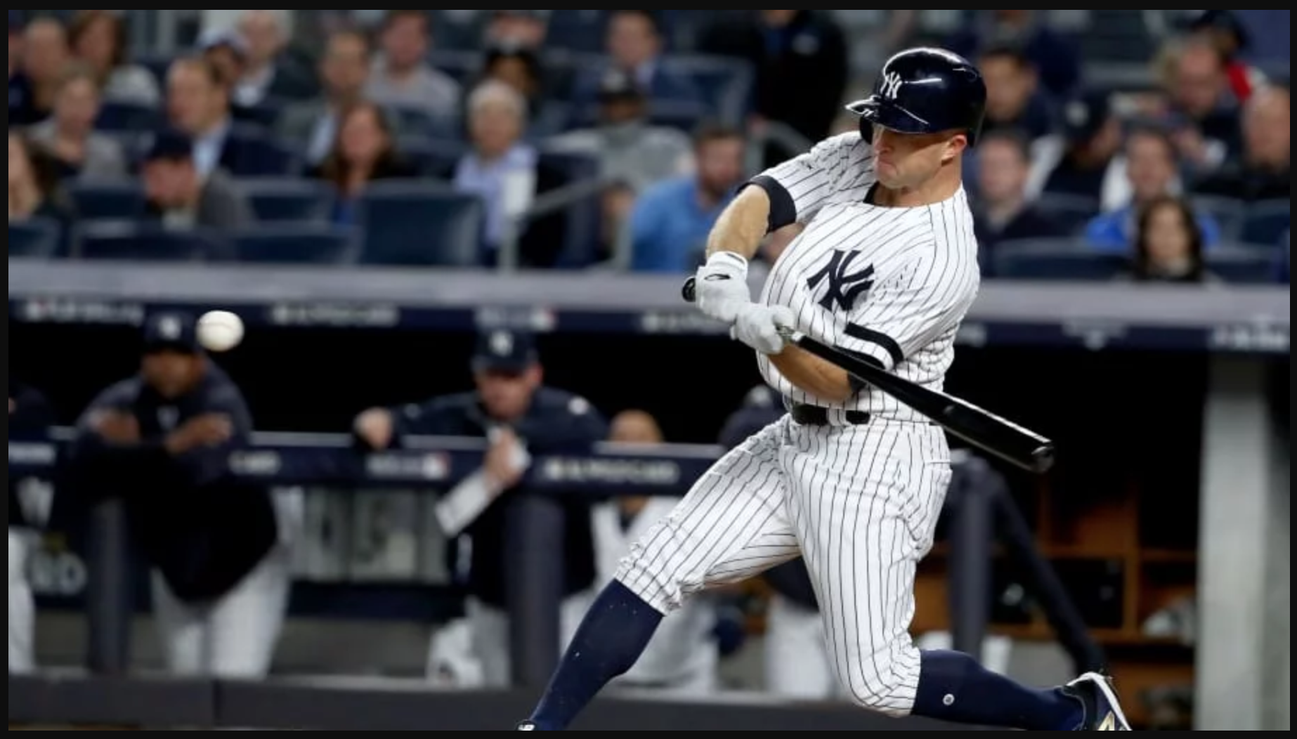 """Yankees Brett Gardner Is Trying To Get A Restraining Order From His Alleged """"Future Wife"""" Who Says He Makes Sexual Signals At Her During Games"""