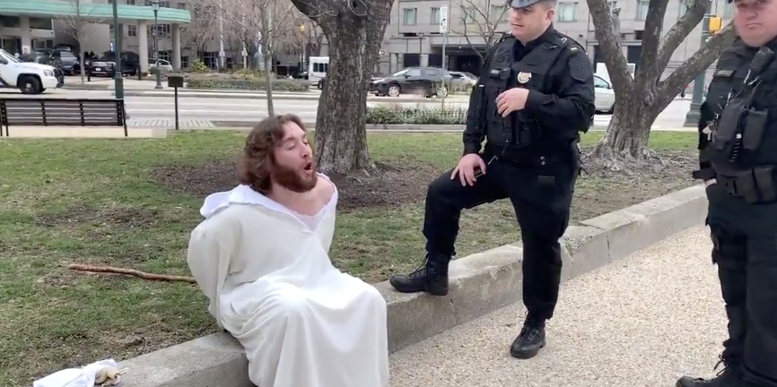 They Kicked The Son Of God Out Of The Basilica Yesterday