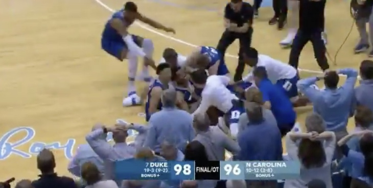 Duke Comes Back TWICE To Beat UNC In An Instant Classic!