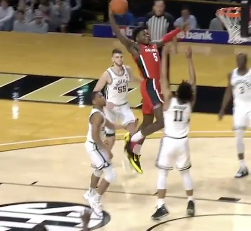 Anthony Edwards Just Dunked This Vanderbilt Player Through The Hardwood